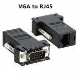 VGA to RJ45 LAN Cat5e Cat6 Network Cable Video Extender MALE