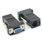 VGA to RJ45 LAN Cat5e Cat6 Network Cable Video Extender FEMALE