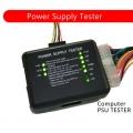 Power Supply Tester PC 20/24 Pin PSU ATX SATA Tester LED Mini (1817)
