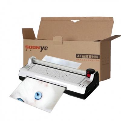 6-in-1 Soonye Laminator Photo / Paper Cutter A3 Laminate Machine