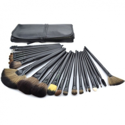 Professional 24pcs Makeup Brush Set Hair Cosmetics Beauty Tools