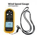 GM816 Digital LCD Anemometer Wind Speed Gauge Meter Temperature