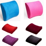 High Density Memory Pillow Foam Chair Lumbar Back Support Pillow