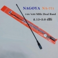 Diamond RH-771 SMA Female Antenna Dual Band UHF+VHF For Walkie Talkie