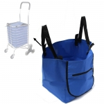 Oxford Recycle Grocery & Trolley Bag  for Shopping Basket