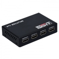 HDMI Splitter 1 in 4 out Port Repeater Amplifier 3D 1080p 1x4 (2065)
