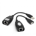 USB Extension Extender Adapter To 150 feet Using CAT5 RJ45 LAN Cable