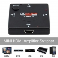 3 In 1 Out 1080P Port HDMI Switch Selector Switcher Splitter Full HD
