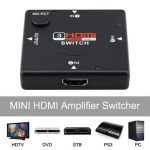 HDMI Switch Switcher 3 Port  1080P 3 in 1 out (2095)