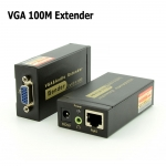 VGA Extender 100M Cat5e/6-568B Network Cable Adapter for HDTV  (2033)