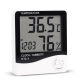 Clock & Humidity Tester Hygrometer with Alarm Clock