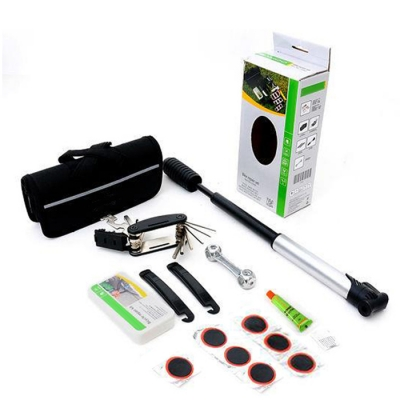 SAHOO Bicycle Bike Tyre Tire Multi Tool Set Repair Kit