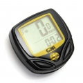 Wireless Bicycle Speedometer Bike LCD Odometer Waterproof SD-548C