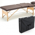 High Grade PU Leather Portable Folding Massage Bed Table