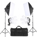 Light Studio Lighting Soft box Photo Equipment Kit