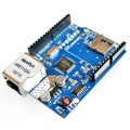 Ethernet W5100 Shield with micro SD slot Robotic Arduino