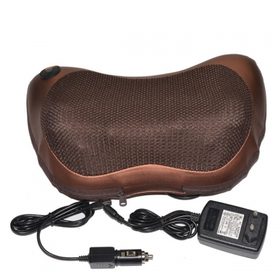 Massage Pillow Cushion Neck 8 Roller  2 in 1 Infrared Heating