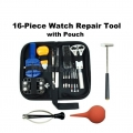 16 Pieces Watch Repair Tool Kit With Carry Case Pouch (2119)