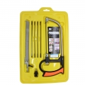 8 in 1 Magic-Saw Multi Purpose Hand DIY Saw Metal Wood Glass Saw Kit