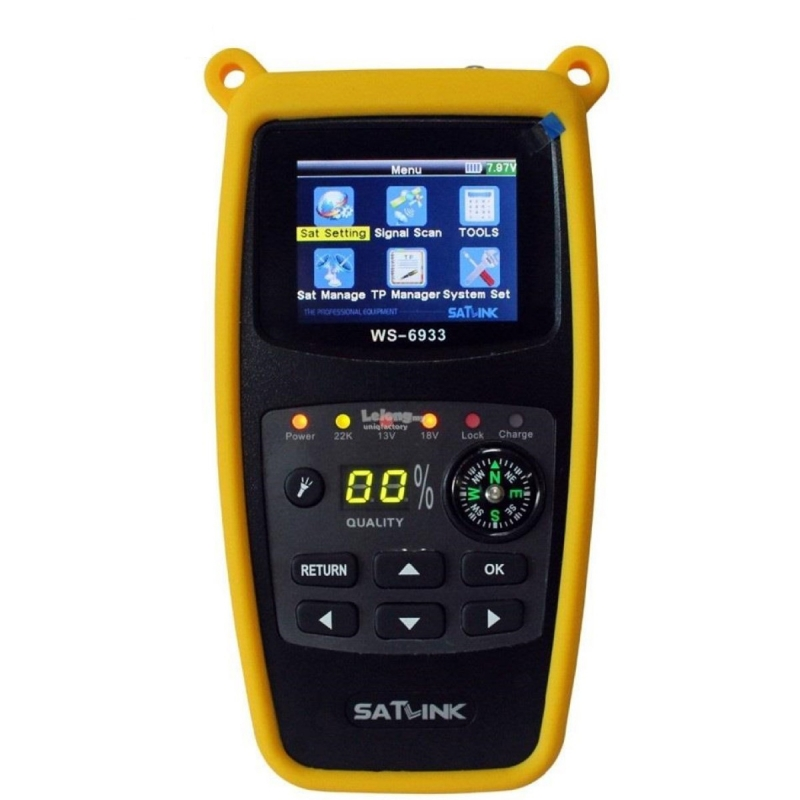 Satlink WS-6933 DVB-S2 Digital Satellite Finder Meter | Best