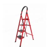 Wide Steps Lightweight Folding Ladder With Hand Grip