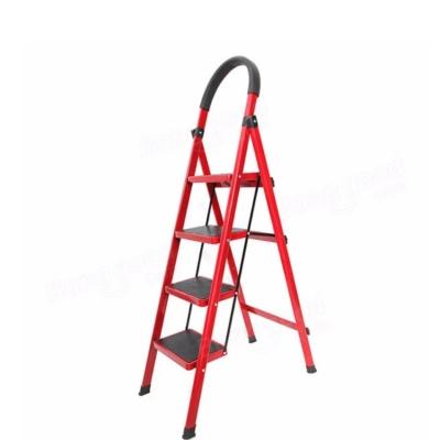Wide Steps Lightweight Folding Ladder With Hand Grip