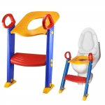 Children Toddler Foldable Kid Baby Toilet Trainer with Ladder