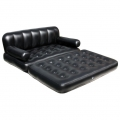 Bestway 5 in 1 Two Seater Couch Settee Air Sofa Double Bed Mattress