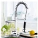 Chrome Pull Out Sink Water Mixer Faucet Tap (2084)