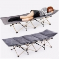Foldable Folding Lazy Camping Cot Single Bed Outdoor Hospital