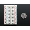 Solderless Mini Breadboard 400 holes 8.5cm X 5.5cm for Arduino