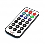 UXCELL Plastic Rectangle Mp3 Remote Control For Arduino