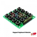 Arduino 4x4 16 Push Button Matrix Keypad MCU Module Board