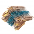 600pcs Resistor bundle mix (10ohm - 1M ohm) 1/4W