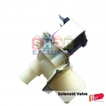 "3/4 ""-12 mm 90-degree solenoid water valve 12Vdc"