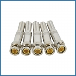 RG59/RG6 Coaxial BNC Male Connector for CCTV Camera
