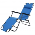 Portable Foldable Sleep Rest Nap Laying Chair Office 3Way 178cm