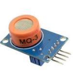 MQ-3 Alchohol Gas sensor Module