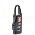 Swiss Gear 3 Digit Password Code Combination Luggage Lock Swissgear