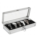 Premium Aluminium Watch Display & Storage Box Case 6 10 Slots