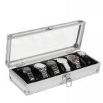 Premium Aluminium Watch Display & Storage Box Case 6 10 Slots