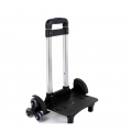 3 Wheel Trolley for Upstair School Bag 6 (Black)
