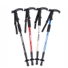 High Quality Anti Shock Retracted Hiking Walking Stick T Handle