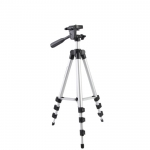 130cm Telescoping Camera Tripod / phone FREE Phone Holder & Bag