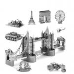 Zoyo 3D Nano Metal Puzzle Laser Cut Model Building DIY