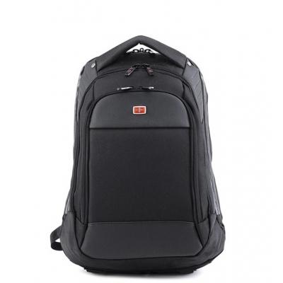 2016 Swiss Gear 15˝ Padded Laptop Backpack School Travel (Black)