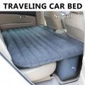 Inflatable Portable Car Air Bed Mattress Pillow Travel (no wall)